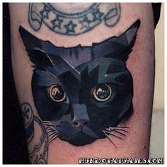 tatuajes de gatos negros 1