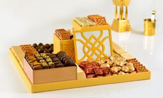 Offer and share the ultimate in magnificent gifting with this imaginative#chocolategift arrangement this#Ramadan!  #Patchi #Heartmade