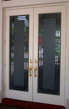 glass, glass etching, on-site glass etching, Boynton Beach, Florida Interior Door, Interior Exterior, Old Doors, Front Doors, Frosted Window, Balcony Privacy, Stained Glass Window Film, Door Stickers, Boynton Beach