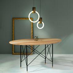 Halo Pendants by Matthew McCormick Studio. Follow us: http://instagram.com/matthew.mccormick/   #Lighting #Design #Industrialdesign #Interiordesign #Interiors #Decor #Architecture #Light #Art #Sculpture