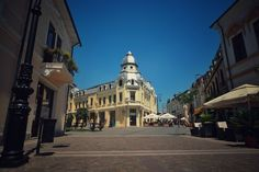 Craiova, Romania >>> View other photos like this one >>> DiscoverBucharest is back up! In 6 languages! Languages, Brother, Around The Worlds, Street View, Mansions, House Styles, Photography, Bulgaria, Hungary