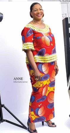 von Uniwax 18 exe ok 180214 2 - Damen und Mode African Maxi Dresses, Ankara Skirt And Blouse, Latest African Fashion Dresses, African Dresses For Women, African Print Fashion, Africa Fashion, African Attire, African Wear, African Women