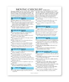 moving checklist planner printable | moving checklist template ...