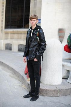 PARIS / model: Robbie Mckinnon / outer: RIVER ISLAND / shoes: VANS