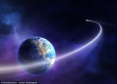 While comets regularly fly through our solar system, scientists believe they may have spot...
