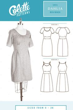 Dahlia dress by Colette Patterns