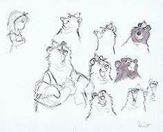 Art by Milt Kahl* | © Walt Disney Animation Studios*  • Blog/Website | (www.disneyanimation.com) • Online Store |  (www.disneystore.com) ★ || CHARACTER DESIGN REFERENCES™ (https://www.facebook.com/CharacterDesignReferences & https://www.pinterest.com/characterdesigh) • Love Character Design? Join the #CDChallenge (link→ https://www.facebook.com/groups/CharacterDesignChallenge) Share your unique vision of a theme, promote your art in a community of over 50.000 artists! || ★