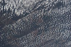 Popcorn clouds over Brazil.  Taken June 11, 2013.  KN from space.