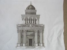 Roman Building From stitch magic series