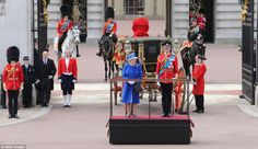 The Queen's 90th Birthday Celebration 2016  Trooping the  Color
