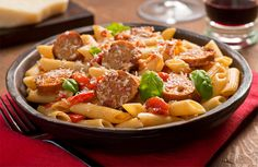 sausage-pasta
