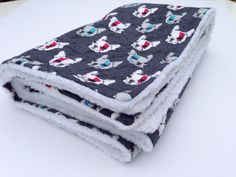 Flannel Blanket, French Bulldogs, Pet Blankets, Dog Blanket, Sherpa Blanket, Dog Throw, Dog Blanket Bed, Puppy Blanket, Baby Dog Blankets by ComfyPetPads on Etsy