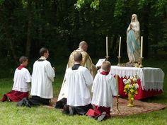 Fête de l'Assomption à Notre-Dame de Bermont