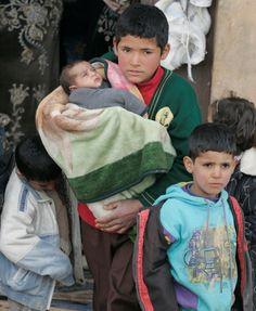 Help Syrian Refugee Children  Syrian refugees arrive in northern Lebanon.