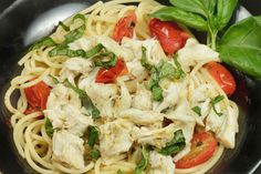 When you find fresh Maryland Jumbo Lump crab meat in the store, summer can't be to far behind and this Pasta Fresca is the perfect meal to showcase the crabmeat.