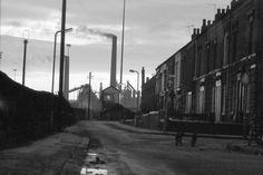 Havelock Street, Marshside looking south towards the BSC Works. On the other side of the railway station. Cumbria, The Other Side, Lake District, World Heritage Sites, West Coast, England, Black And White, Family History, Street