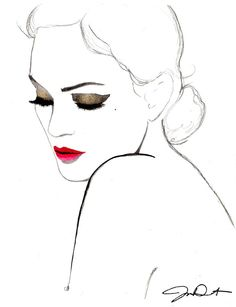 Fashion illustration//