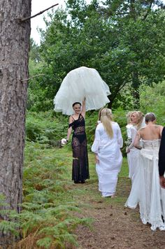 Tree Swing Flower Bridesmaid At Happy Valley Norfolk