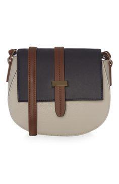 Primark - Beige Saddle Bag