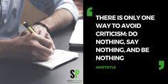 Avoid it #scitechspiration