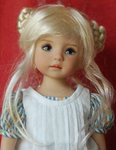 """Monique """"Lucky"""" Wig in Honey Blonde for Dianna Effner Little Darling WIG ONLY"""