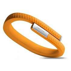 Up By Jawbone Tracking Wristband – 24/7 Activity Tracking – Inside and Out (Orange, Large)