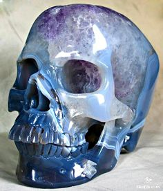 ☆ Agate Skull ☆ http://pinterest.com/pin/516154807263830682/ ☆