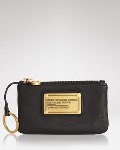 Marc Jacobs and Michael Kors are by far my favorite designers, I think I'll take a look at key pouches if I come across them! MARC BY MARC JACOBS Key Pouch - Classic Q $98.00