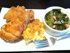 behold the holy trifecta of soul food (and southern collard greens recipe) | lilasapron