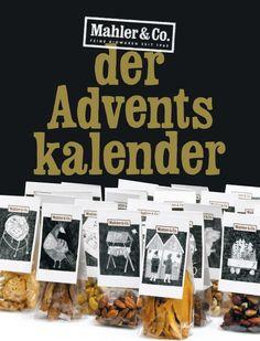 Bio Adventskalender Mahler & Co. Joy, Advent Calendar, Food Portions, Gifts
