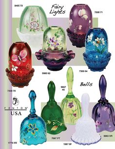 Fenton Art Glass Company Fenton Lamps, Fenton Glassware, Antique Glassware, My Glass, Glass Art, Chola Style, Viking Glass, Antique Stoneware, Fairy Lamp