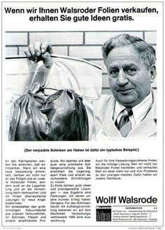 Original-Werbung/ Anzeige 1969 - WOLFF VERPACKUNGEN - WALSRODE - ca. 180 x 240 mm