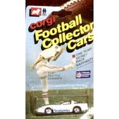 Seattle Seahawks 1/64 Corvette 1983 Corgi Trading Cars NFL Diecast Car Football Team Collectible by NFL  $62.39
