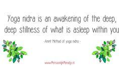 Yoga nidra quote