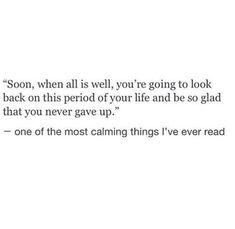 So true! Sometimes you need to look back to realise how far you have come