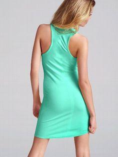 NEW! Racerback Scoopneck Dress #VictoriasSecret http://www.victoriassecret.com/clothing/dresses/racerback-scoopneck-dress?ProductID=91033=OLS?cm_mmc=pinterest-_-product-_-x-_-x