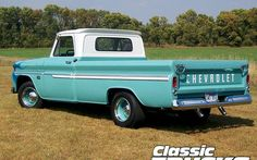 Chev Vintage Classic Trucks    Back when they made real pickups