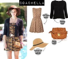 """Emma Watson Style - Coachella"" by jazzy-izzy on Polyvore"