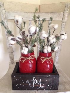 Easy DIY Indoor Christmas Decor and Display Ideas, Ways To Decorate Your Tiered Tray For Christmas, Kitchen Counters, or Fireplace Mantle Decorating, Christmas Decor Christmas Bathroom Decor, Indoor Christmas Decorations, Christmas Centerpieces, Graduation Centerpiece, Candle Centerpieces, Country Christmas, Christmas Home, Christmas Holidays, Christmas Kitchen