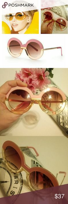 💕 Hollywood Barbie Sunglasses Pink Safe driving sunglasses! These are too perfect to be described. The pink color is so bright when you see the glasses in real life. The glasses are truely unique and awesome. I have two pairs of the glasses. The quality of lenses are shown in the last photo. High quality unique pink glasses at a good price. You will be proud of buying these glasses Accessories Sunglasses