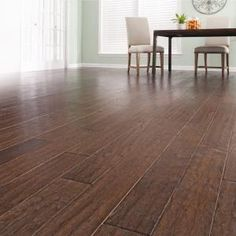 Millstead Handscraped Hickory Chestnut 1/2 in. Thick x 5 in. Wide x Random Length Engineered Hardwood Flooring (31 sq. ft. / case)-PF9610 at The Home Depot