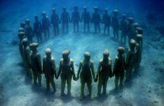 Underwater Sculpture Park — Grenada #CaribbeanWeek