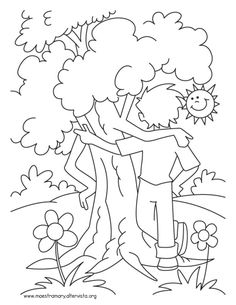 Arbor Day Tree Coloring Page See the category to find more printable coloring sheets. Also, you could use the search box to find what you want.