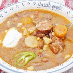 Egy finom Bográcsos babgulyás ebédre vagy vacsorára? Bográcsos babgulyás Receptek a Mindmegette.hu Recept gyűjteményében!