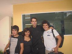 Con equipo de producción de Univa TV