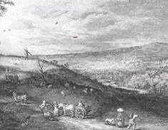Paisaje con Molino de viento, 1608.