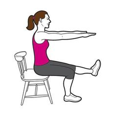 Balance Your Body Strength: Chair Pistol Squat