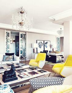Interior Design | Glamorous Madrid Apartment