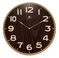 Arbor Lane Wood Wall Clock