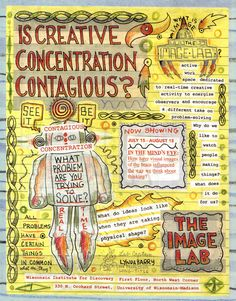 Lynda Barry's Syllabus: An Illustrated Field Guide to Keeping a Visual Diary and Cultivating the Capacity for Creative Observation | Brain Pickings